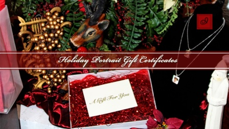 Christmas Gift Certificate Sale